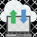 Data Transfer Transform Icon