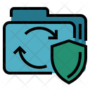 Data Transfer Protection Secure Data Transfer Data Refresh Icon