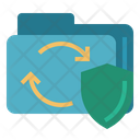 Data Transfer Protection Icon