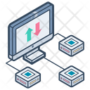 Data Transfer Technology Icon