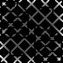 Data Transform Synchronization Icon