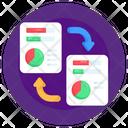 Document Transfer File Transfer Data Transform Icon