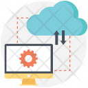 Cloud Data Transformation Icon