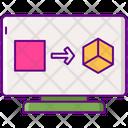 Data Transformation Data Transfer Data Sharing Icon