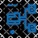 Data Transformation Convert Data Icon