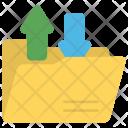 Data Transformation Converting Icon