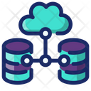 Data Transmission Data Transfer Cloud Computing Icon