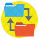 Folder Share Data Icon