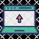 Data Sync Transfer Upload Data Icon