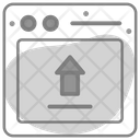 Data Upload Storage Icon