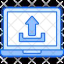 Data Uploading Icon
