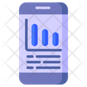 Data View Business Vision Data Monitoring Icon
