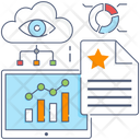 Business Dashboard Kpi Business Performance Icon