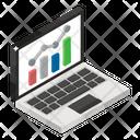 Stock Market Online Data Data Analytics Icon