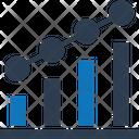 Data Visualization Bar Graph Histogram Icon
