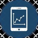 Data Visualization Mobile Graph Mobile Interface Icon