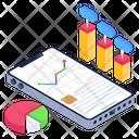 Data Display Data Visualization Online Analytics Icon