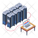 System Database Database Display Data Centers Display Icon