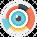 Data Visualization Eyeball Icon