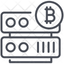 Bitcoin Currency Data Icon