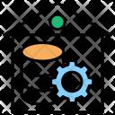 Data Warehouse Database Icon