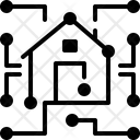 Datawarehouse Data Dimensional Icon