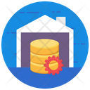 Database Configuration Big Data Data Storage Icon