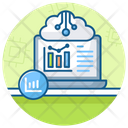Data Warehouse Data Storage Cloud Computing Icon