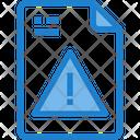 Data Warning Icon