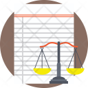 Data Weighing System Icon