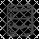 Database Data Storage Host Icon
