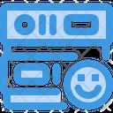 Like Smile Smile Database Icon