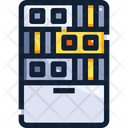 Server Database Data Hardware Icon