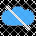 Cloud Network Communication Icon