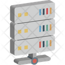Database Hosting Mainframe Icon