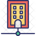 Database Network Server Server Connection Icon