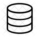Cloud Data Database Icon