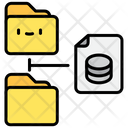 Database Network Files Icon