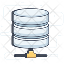 Data Server Server Rack Data Repository Icon