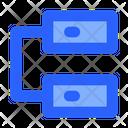 Database Network Internet Icon
