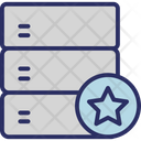 Database Server Star Icon