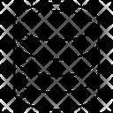 Datacenter Database Data Rack Icon