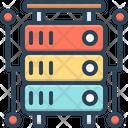 Database Storage Database Interconnected Icon