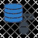 Database Online Server Icon