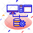 Database Server Computer Icon