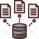 Database Document Data Storage Icon