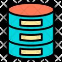 Database Big Data Online Icon