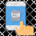 Smartphone Transfer Data Transfer Icon