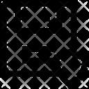 Database Shield Sign Locked Data Icon