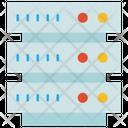 Database Network Servers Icon